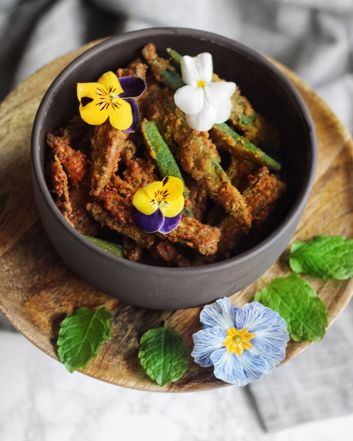 Crispy Spiced Okra Fries
